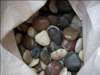 五彩鹅卵石